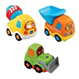 Best VTech Baby Carriers - VTech Baby 205743 Toot-Toot Drivers Car Construction Vehicles Review
