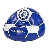 Chelsea FC aufblasbarer Sessel mit offiziellem Fußballdesign (Einheitsgröße) (Blau/Weiß)