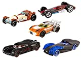 Mattel CKK83 Hot Wheels - Star Wars Episode VII Character Car, 5-er Pack