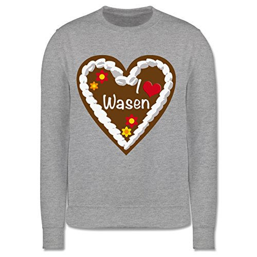 oktoberfest-kind-lebkuchenherz-i-love-wasen-stuttgart-5-6-jahre-116-grau-meliert-jh030k-kinder-premi