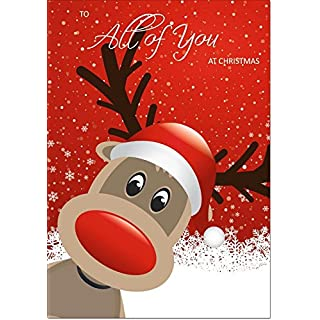 To All Of You Christmas Card - Medium Size