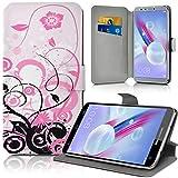 KARYLAX Etui de Protection et Porte-Carte Universel M [IMP-HF30] pour Smartphone...