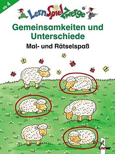 LernSpielZwerge Übungsblock: Gemeinsamkeiten und Unterschiede
