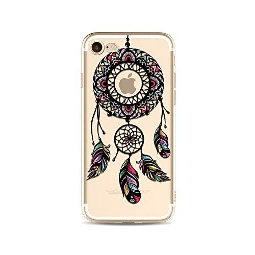 Coque iPhone 5 5s Housse étui-Case Transparent Liquid Crystal Capture de Rêve en TPU Silicone Clair,Protection Ultra Mince Premium,Coque Prime pour iPhone 5 5s-style 15 style 14