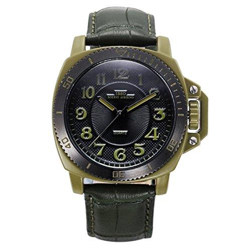2588e8924234 Panerai estilo relojes de cuarzo para hombre reloj deportivo analógico con  banda auténtica 3821