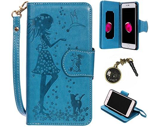 PU Silikon Schutzhülle Handyhülle Prägung Painted pc case cover hülle Handy-Fall-Haut Shell Abdeckungen für Apple iPhone 7 Plus (5.5 Zoll) +Staubstecker (1FK) 8