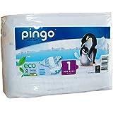 Couches écologiques Pingo T1 New born 2/5 kg - paquet de 27 couches