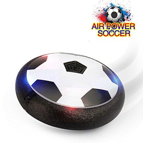 Air Power Soccer Fussball Indoor Training Hover Ball Fußball Sport Spielzeug E Stoßstangen aus weichem Schaumstoff mit LED-Lichter für Mädchen und Jungen (lbt-11)