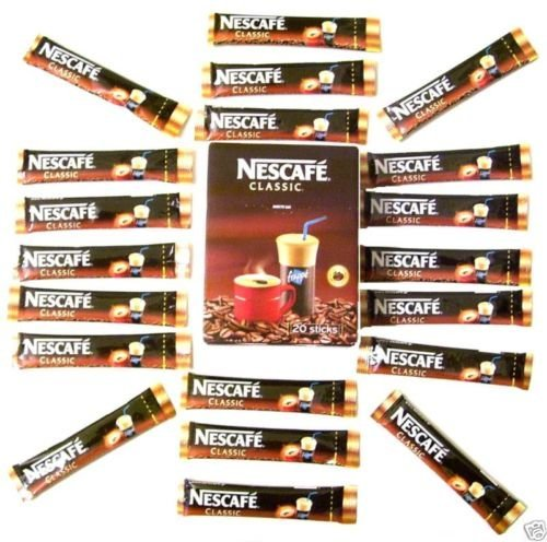 Greek Nescafe Frappe Stick Classic Instant Coffee 30 STICKS by NescafÃ