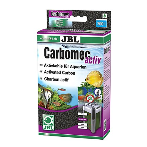 JBL Entfernung von Medikamentenrückständen, Wasserverfärbungen und hochmolekularen organischen Verunreinigungen