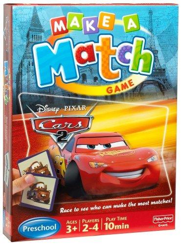 Mattel M3910-0 - Spiele - Finde-die-Paare Cars