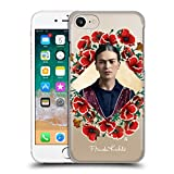 Head Case Designs Offizielle Frida Kahlo Mohnblume-Kranz Portrait 2 Ruckseite Hülle für iPhone 7/iPhone 8