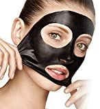 Deep Charcoal Mud Mask for Face Cleansing Spa Quality