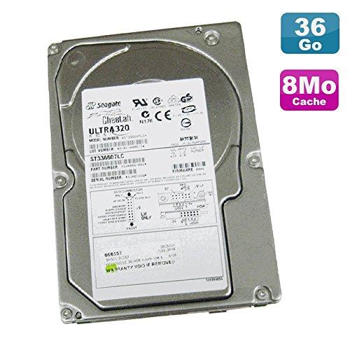 Seagate Festplatte 36.7Go SCSI Cheetah ST336607LC Ultra 320 10K U/Min 8Mo - Ultra Scsi Festplatte