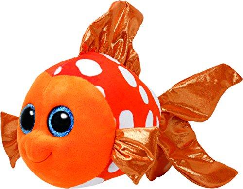 """Beanie Boo Fish - Sami - Orange - 42cm 16"""""""
