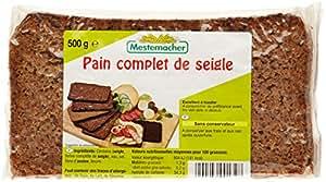 Mestemacher Pain Complet de Seigle 500 g