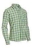 Almsach Herren Slim Fit Trachten Hemd LF191-s apfel/tanne