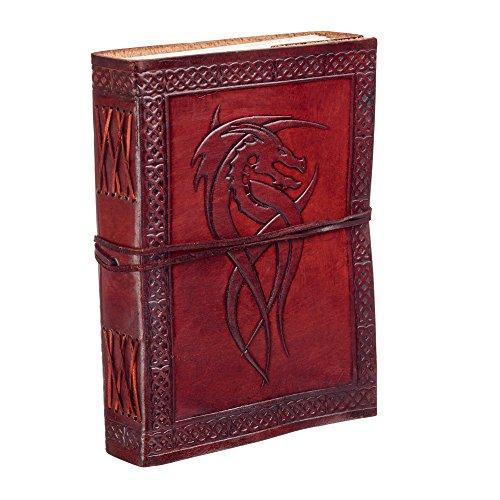 Dragon celtique Cuir Journal ordinateur portable