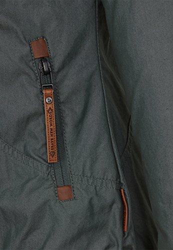 Naketano Female Jacket Kanone ist geladen II Dark Green