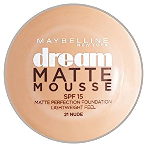 Maybelline Dream Matte Mousse Foundation 21Nude 18ml
