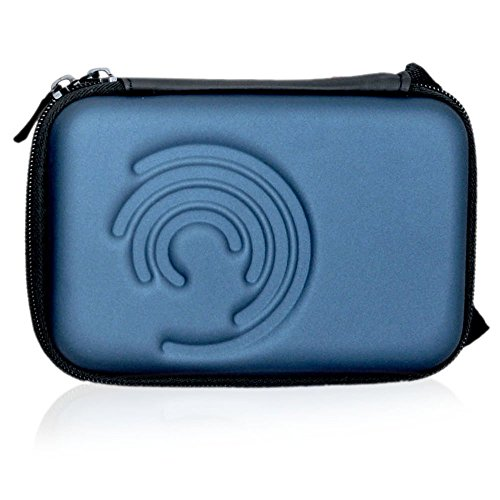 Storin™ Shock Proof External Hard disk Case Protector for WD My Passport Ultra 2.5 inches 1 TB External Hard Drive cover hard disk cover hdd case hdd casing carry bag pouch-Blue  available at amazon for Rs.279