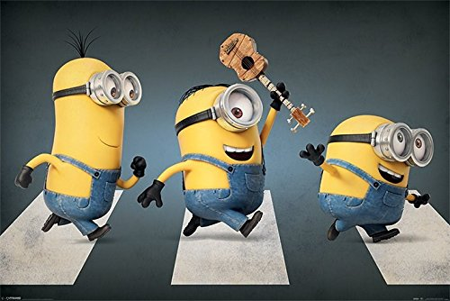 Minions Poster Pack Abbey Road 61 x 91 cm (5) Pyramid International