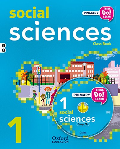 Think Do Learn Social Science 1º Primaria Pack (Libro y CD) - 9788467383584