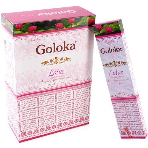 Goloka Sterling Effectz Bastoncini di incenso alla citronella con segnalibro Magnetico