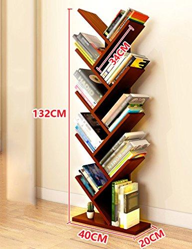 SUBBYE Baum-Form-Boden-stehendes Bücherregal Einfaches Modernes...