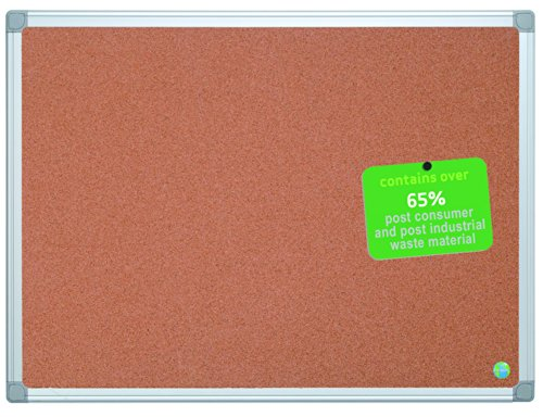 MasterVision Earth Cork Board 3 x 4 Feet, Aluminum Frame (CA051790) by MasterVision