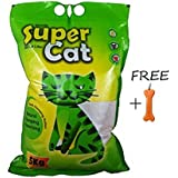 Goofy Tails Super Cat Litter (5kg, Pack Of 3) With Key Chain