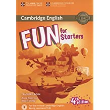 Fun for Starters Teacher's Book with Downloadable Audio Fourth Edition