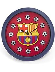 Horloge Pendule Murale Officielle du FC Barcelone, avec des mini-boules, 25cm