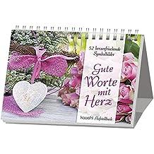 Gute Worte mit Herz: Herzenswünsche mit Symbol-Bildern