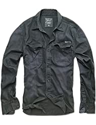 Brandit Hardee Denim Camisa Gris