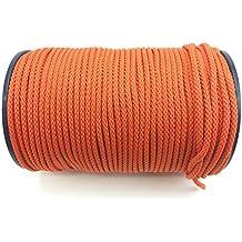 10m POLYPROPYLENSEIL 2mm SCHWARZ Polypropylen Seil Tauwerk PP Flechtleine Textilseil Reepschnur Leine Schnur Festmacher Rope Kunststoffseil Polyseil geflochten