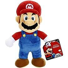 Mario Bros - Mundo de Nintendo, figura Plush, 15 cm (Jakks JAKKNINPLUSHMARIO)