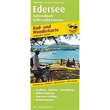 Edersee, Nationalpark Kellerwald-Edersee: Rad- und Wanderkarte mit Ausflugszielen, Einkehr- & Freizeittipps, wetterfest, reissfest, abwischbar, GPS-genau. 1:50000 (Rad- und Wanderkarte / RuWK)