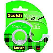 Scotch 8-1975D - Cinta en portarrollos, 19 x 7,5m, multicolor