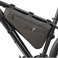 Faviye - Bolsa para cuadro de bicicleta, impermeable, bolsa de tubo triangular, bolsa de bicicleta portátil para el viaje de ciclismo, tamaño 40*23*6CM