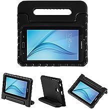 LEADSTAR Samsung Galaxy Tab E 7.0 Lite Ligero y Super Protective Antichoque EVA Funda Diseñar Especialmente para los Niños para Samsung Tab 3 7.0 Lite T110 T111 & Tab E 7.0 Lite T113 - Negro