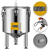 KITGARN 50L RVS Brew Fermenter Thuis Brewing Emmer Fermenter met conische Base Brewing Equipment 50l