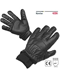 Protec Safe Search needle resistant leather gloves