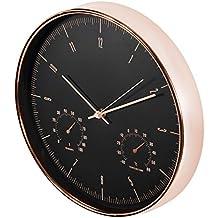CE-ZEGARY Reloj de pared con termómetro e higrómetro 12