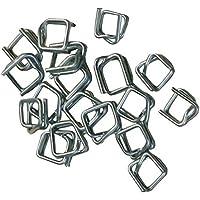Pro SYSTEM U120003 - Cierres de acero para cinta de politex (16 mm, 1000 unidades)