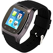 Tera M26 SmartWatch Reloj Bluetooth con podómetro LCD de pantalla táctil para el teléfono inteligente Android 4.0 HTC Samsung, etc. Color negro blanco