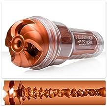 Fleshlight Turbo, Thrust-Textur, Copper (kupferfarben) - diskreter Blowjob-Masturbator aus realistischem Super Skin Material