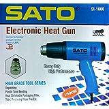 SATO Made in India Heavy Duty Electric Heat Gun 1600 WATT HOT AIR Gun 220V/240V