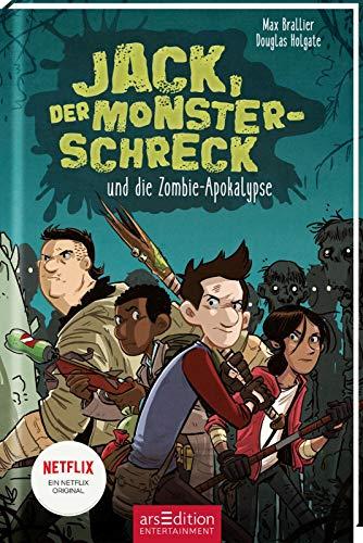 Buchseite und Rezensionen zu 'Jack, der Monsterschreck, und die Zombie-Apokalypse' von Max Brallier