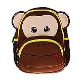 Georgie Porgy niños mochilas Niñas Mochilas Mejores escuela senderismo viajes bolsas de Sidekick mochilas Mono de café
